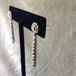 John Hardy Jai Sterling Silver Hill Tribe Earrings